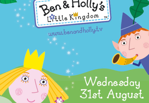 BEN & HOLLY VISIT THE FAMILY PARK TOMORROW!