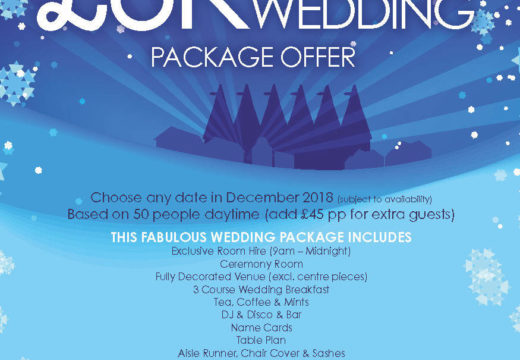 Wonderful Winter Wedding Offer!
