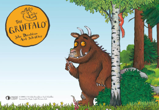 THE GRUFFALO IS COMING TO THE HOP FARM!