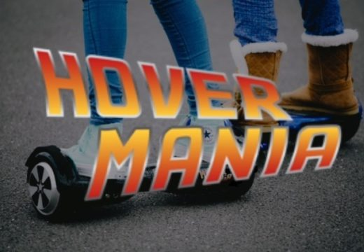NEW ATTRACTION - HOVERMANIA!
