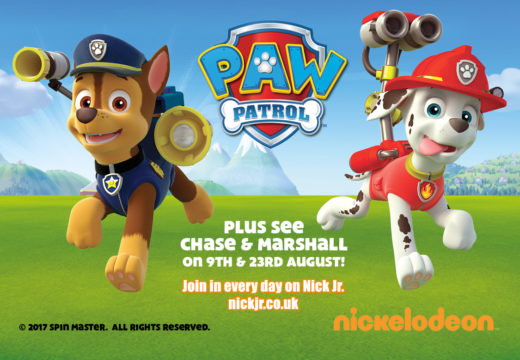 PAW PATROL'S CHASE & MARSHALL - VISITING 9TH & 23 AUGUST!