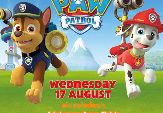 PAW PATROL'S CHASE & MARSHALL - VISITING WEDS 17TH AUGUST!
