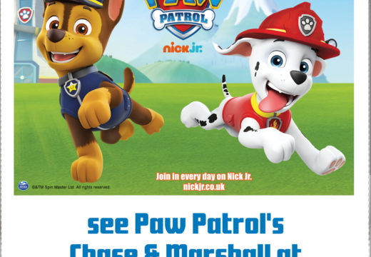 PAW PATROL'S RUBBLE & SKYE ARE VISITING THE HOP FARM!