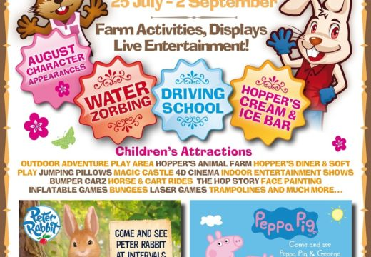 Meet Peter Rabbit & Peppa Pig this Summer!