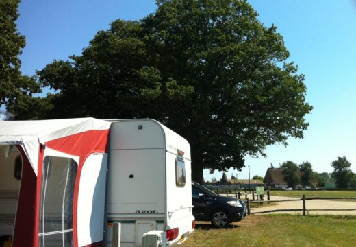 Camping and Touring Park open