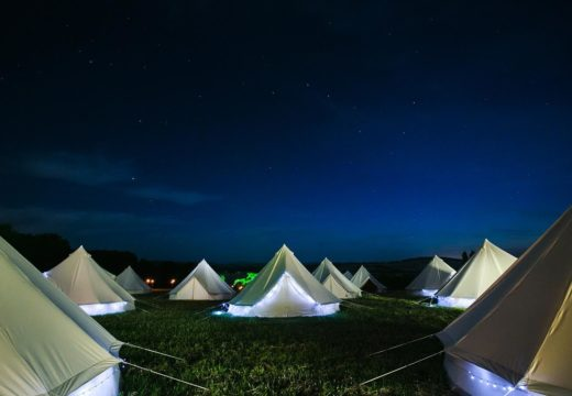 Glamp at The Hop Farm