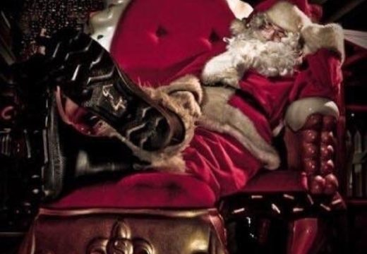 Father Christmas at The Hop Farm!