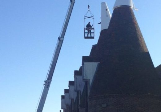 Oast refurbishment update - phase 2