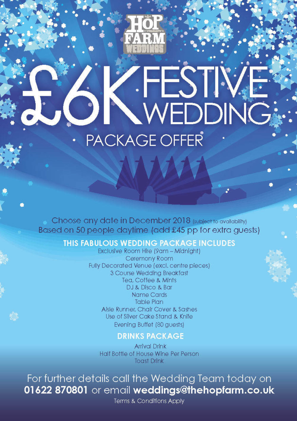 December Wedding Offer 2018 A5 2