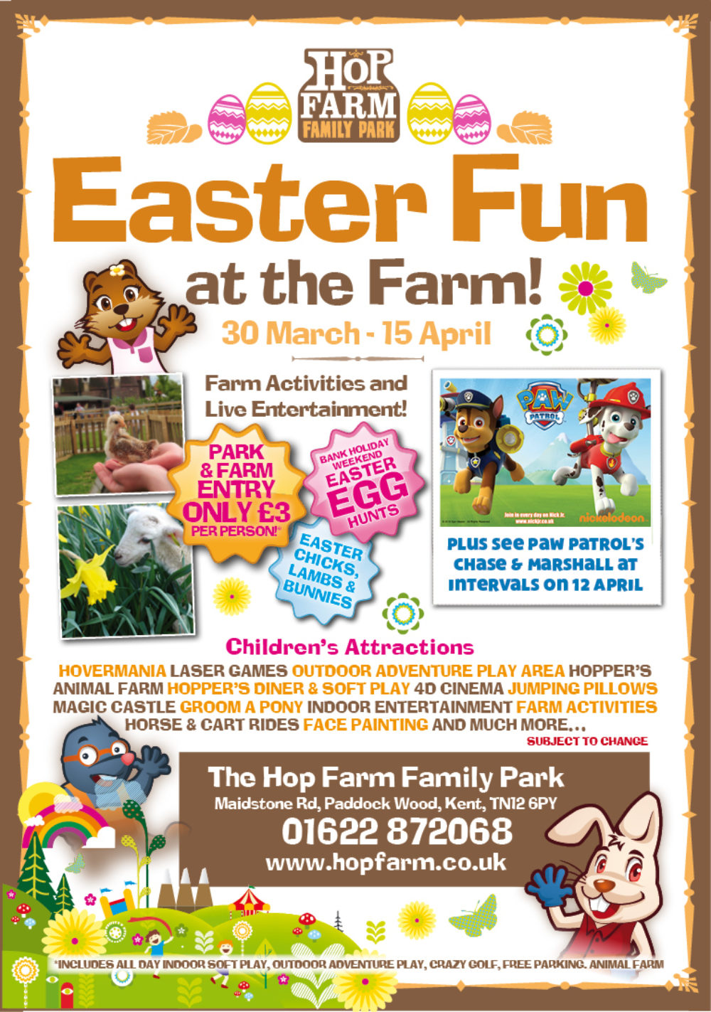 Easter Fun 2018 Ad