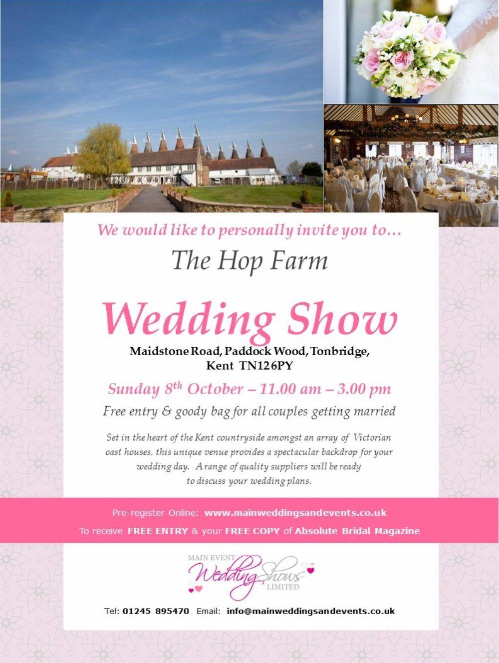Wedding Show Invite 08 10 17