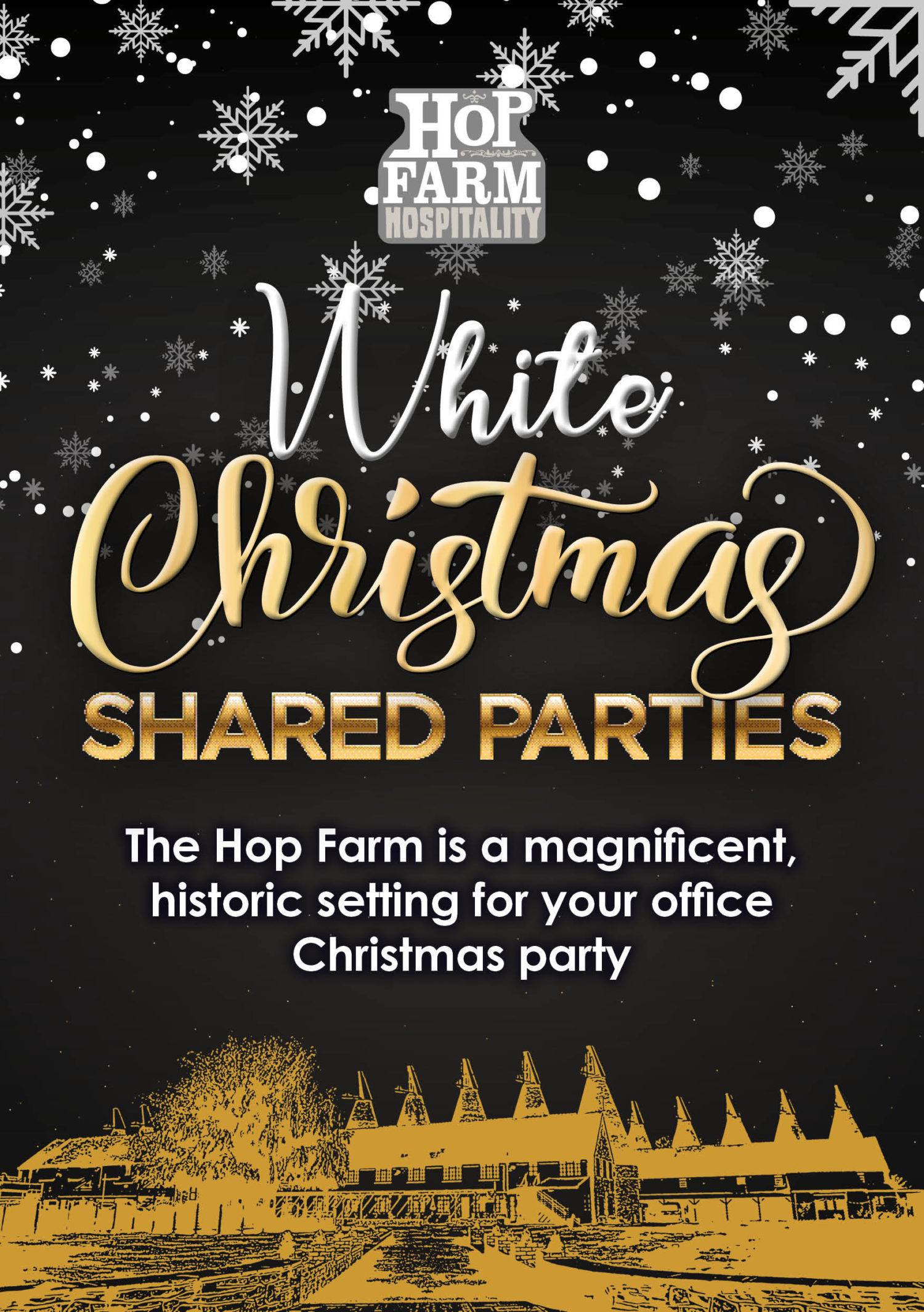 Christmas Party 2019 Logo.Christmas Parties The Hop Farm