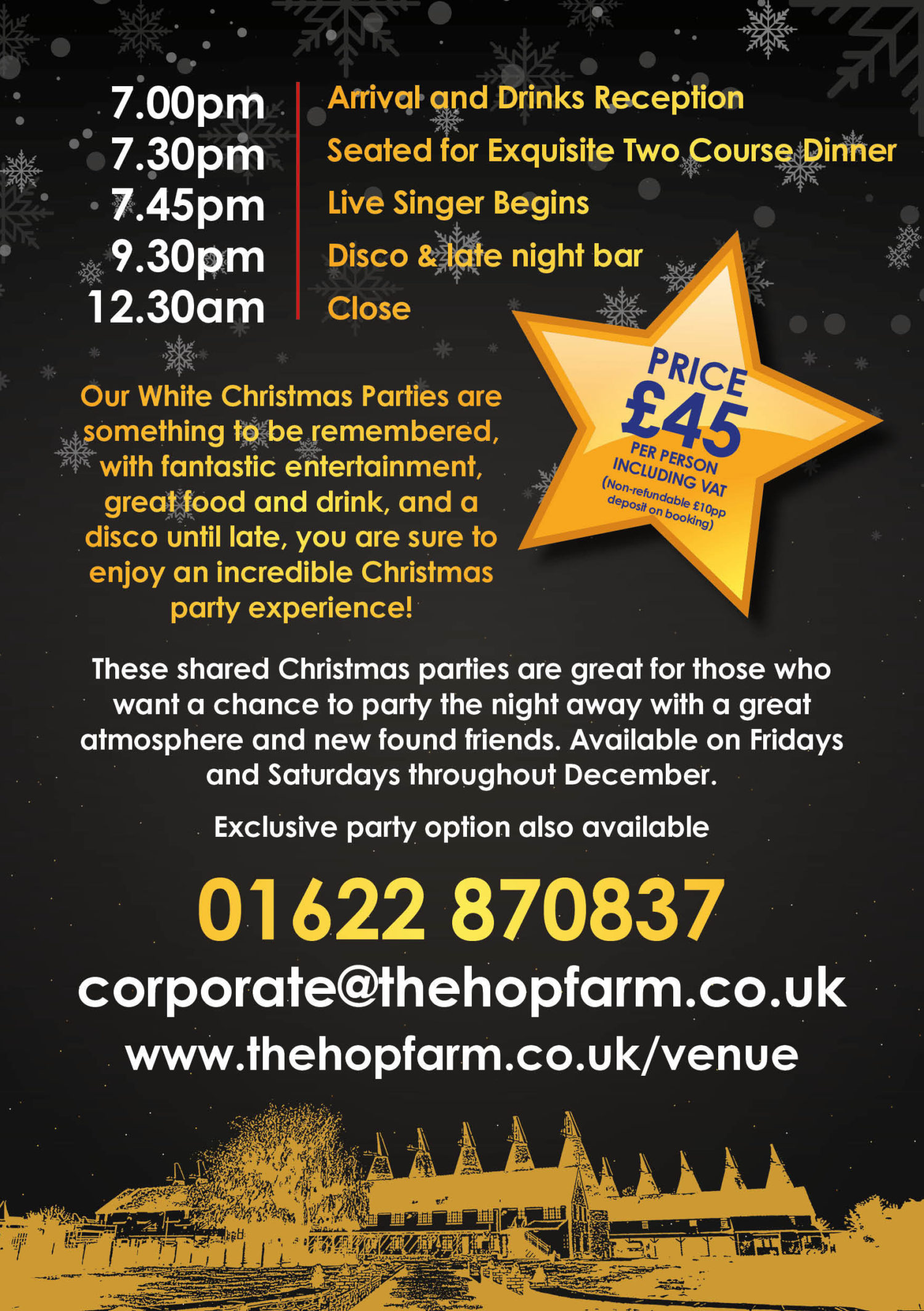 Hop Farm Christmas Parties A5 2Pp 2019 Shared2